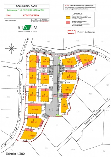 PLAN BEAUCAIRE